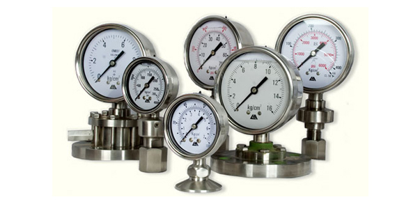 Pressure Measuring Instruments : Ex process equipments
